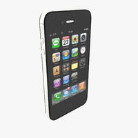 3d model apple iphone 4s