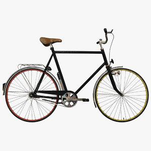 ukrajina bicycle 3d model