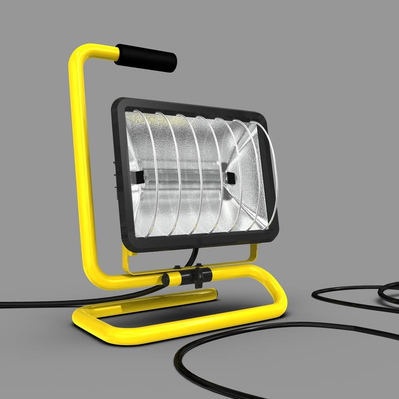 3d model construction light