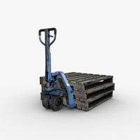 Pfaff-Silberblau Hand Pallet Truck