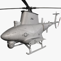 mq-8b scout 3d model