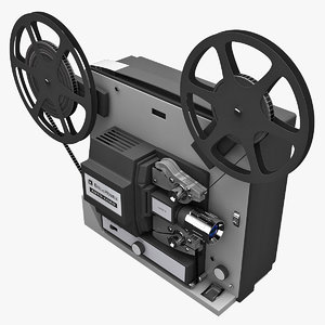 3ds max old movie projector bell