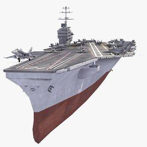 3d abraham aircraft carrier navy