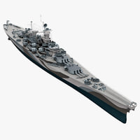 3d uss bb 63 missouri model