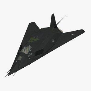 3ds max realistic f 117 nighthawk