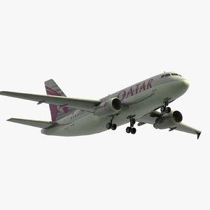 max airbus a319 qatar airways
