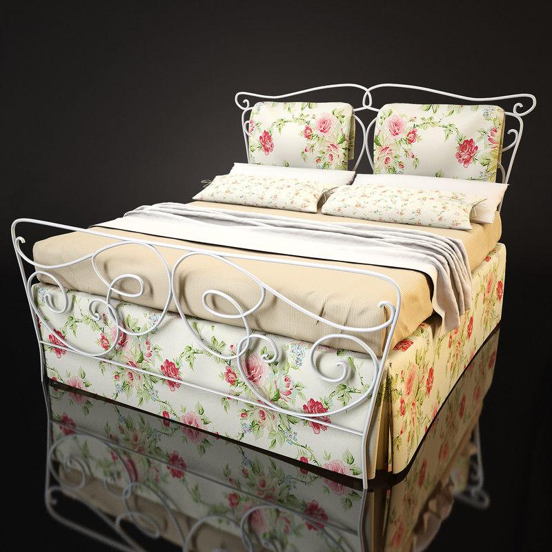 3dsmax bed