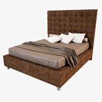 3d model bed furniture