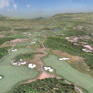 golf course 3d 3ds