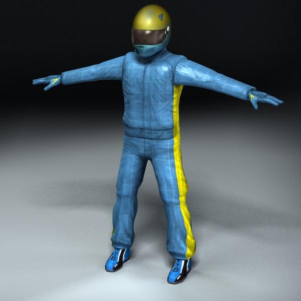 lwo racing driver