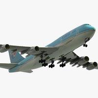 3ds max boeing 747-8i jumbo jet