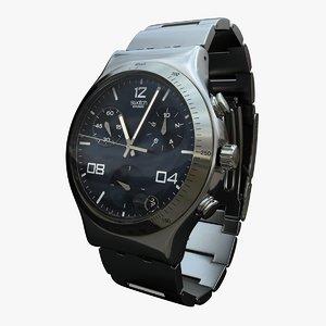 3d swatch irony model