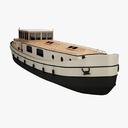 dutch barge 3D models