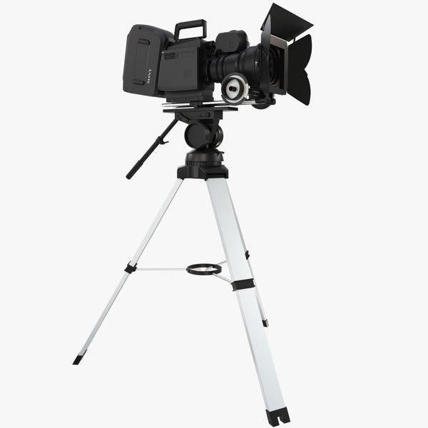 3d model camera sony f35