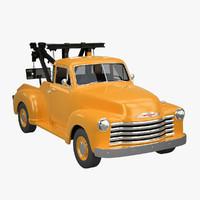chevrolet 1951 tow 3d model