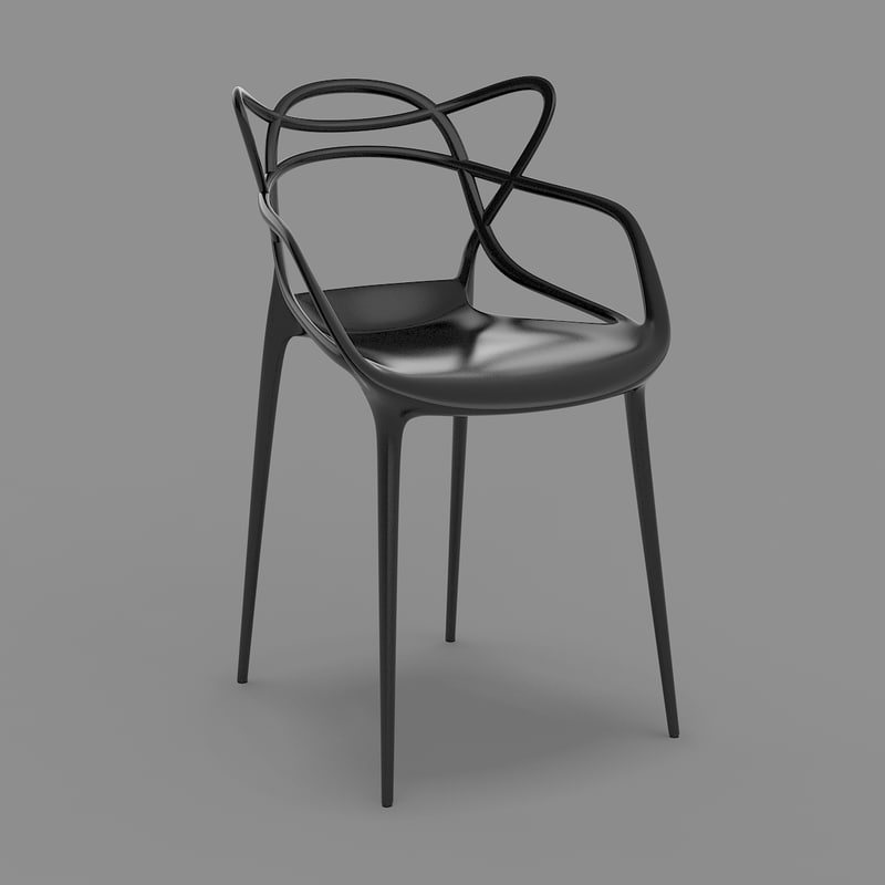 masters chair - starck kartell max