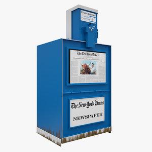 3ds new york newspaper machine