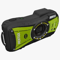 Pentax Optio WG1 14Mp Green
