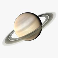 atmosphere saturn 3d model