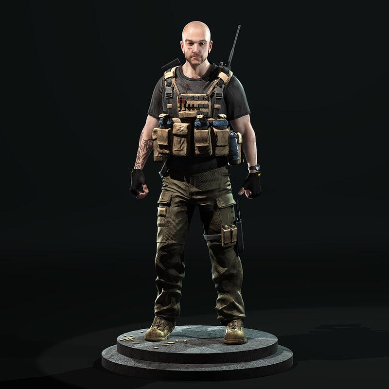 max soldier shotgun