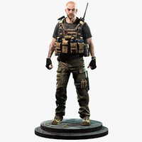 Soldier Blackwater Merc(1)