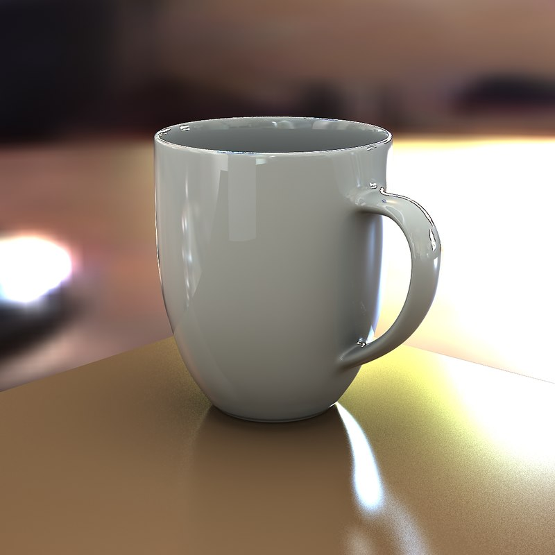 3ds coffee cup mug