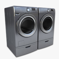 obj loading washer dryer