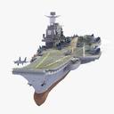 Admiral Kuznetsov 3D models