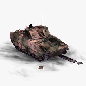 destroyed cv90 3d 3ds