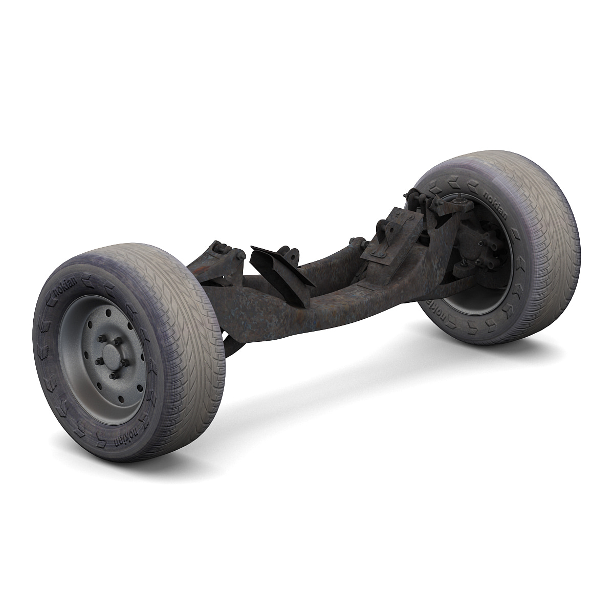 car suspension 3d lwo