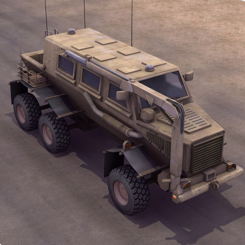 max buffalo mrap vehicle
