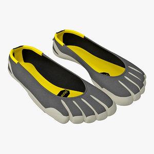 3d vibram fivefingers womens shoes model