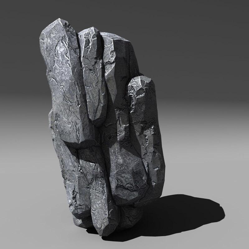 rock cliffs 3d 3ds