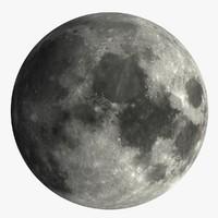 c4d moon satellite space