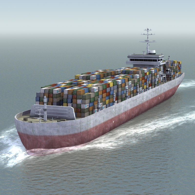 container ship dwg