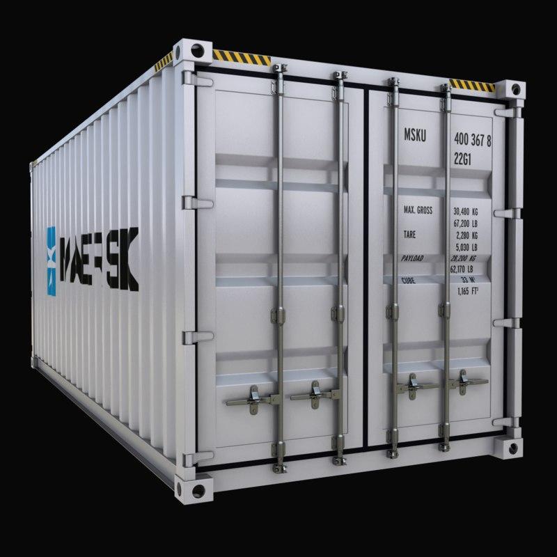 ft shipping 3d model