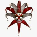Mardi Gras Mask 3D models