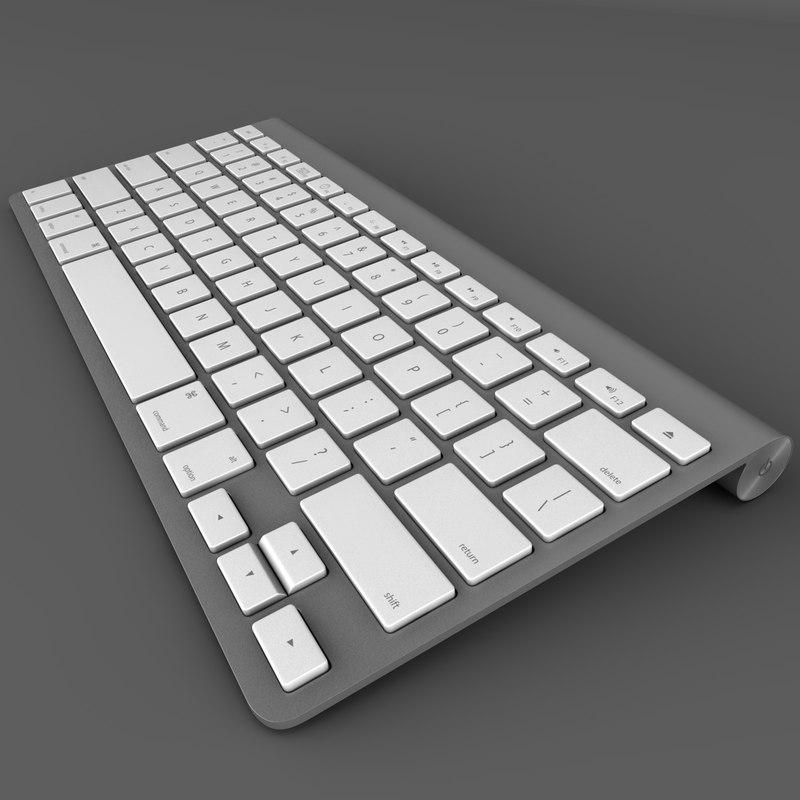 3ds max mac wireless keyboard apple