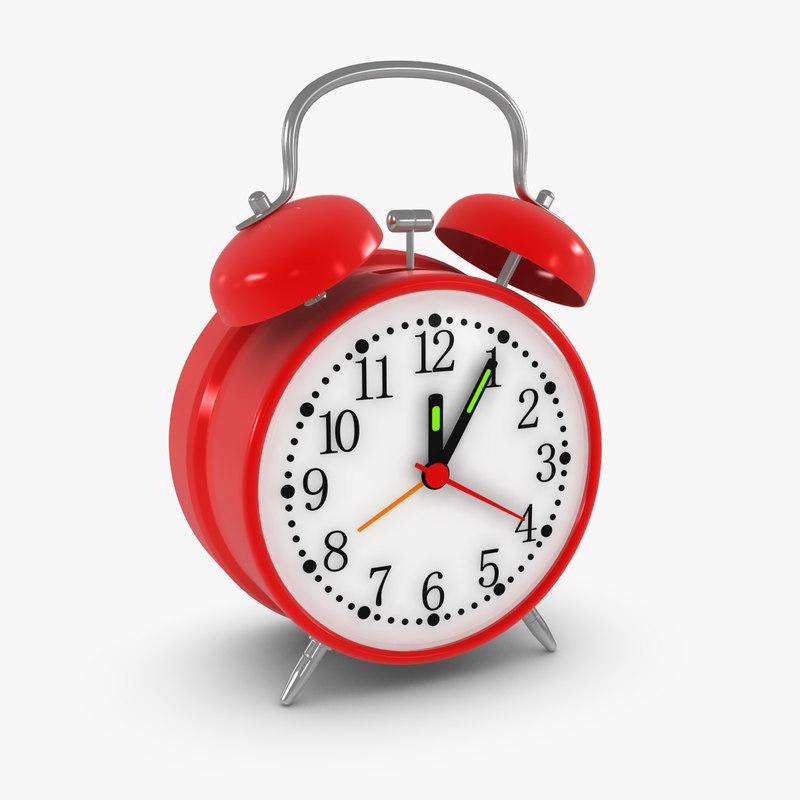 alarm clock obj