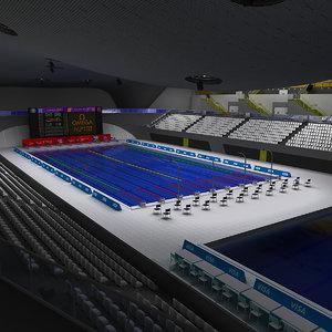 max olympic swimming arena