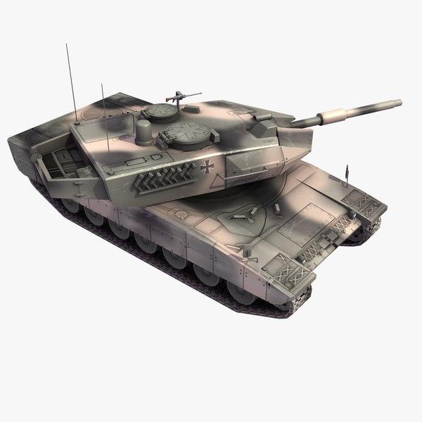 leopard2a5 tank leopard 3d lwo