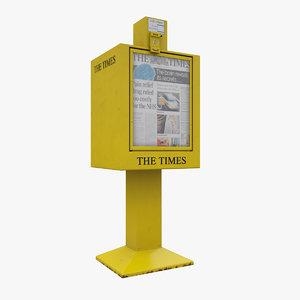 newspaper machine max