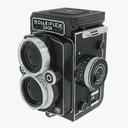 antique camera 3D models