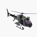 Eurocopter AS550 3D models