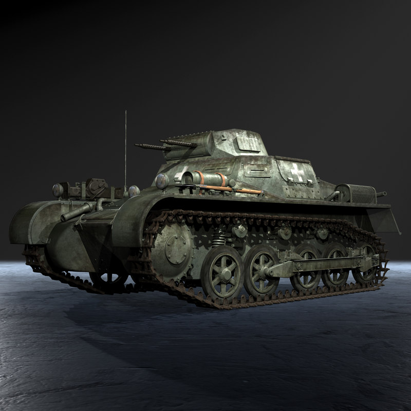 3ds max german wwii panzerkampfwagen ausf