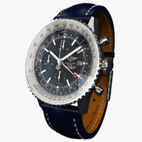 Breitling Navitimer World L-virtual 3d model