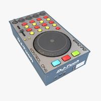 dj-tech kontrol 3d max