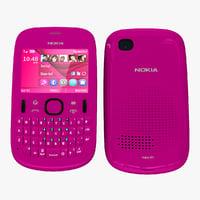 max nokia asha 201 pink