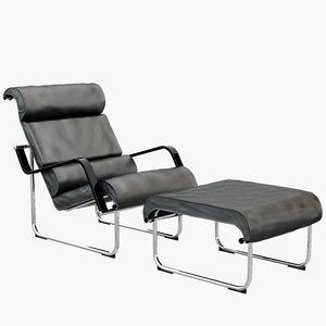 max remmi loungechair footstool