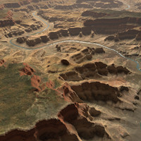 3d model real terrains grand canyon